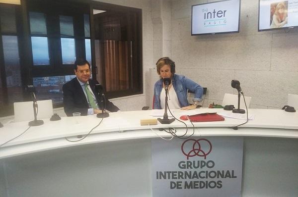 Entrevista a Ignacio de la Riva en Radio Internacional