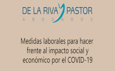 Coronavirus | Medidas laborales para hacer frente al impacto social y económico
